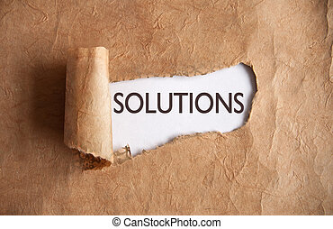Uncovering solutions