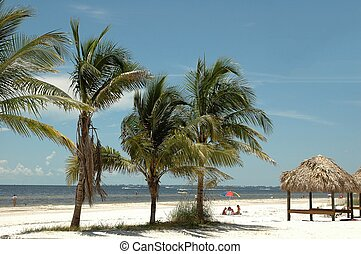 Uncrowded Beach - Photographed at Ft. Myers Beach, Florida
