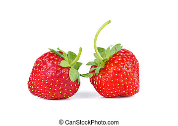 Uncultivated strawberries