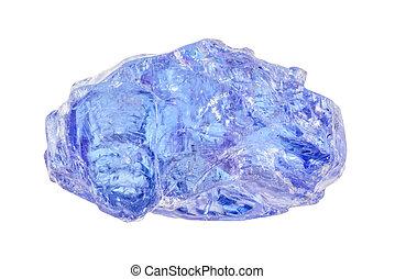 uncut, azul, tanzanite