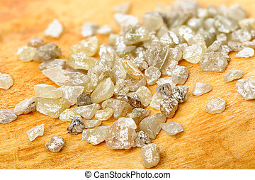 uncut, diamantes, ligado, vidoeiro
