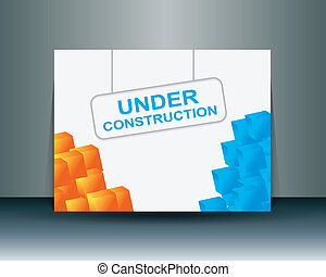 under construct banner
