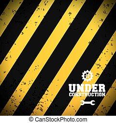 Under construction background design