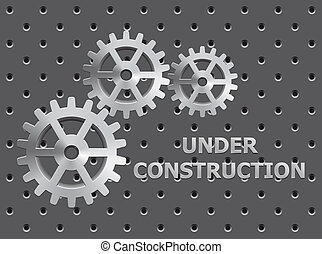 Under Construction - Illustration of under construction on...
