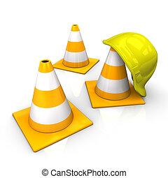Under Construction Icon Helmet