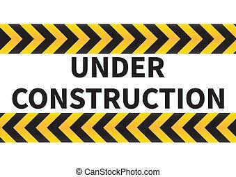 Under Construction Sign.