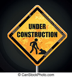 under construction signal
