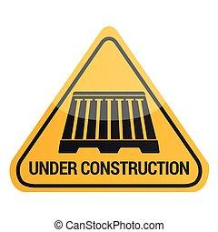 Under construction signal