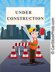 under construction site