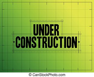 under construction sketch illustration