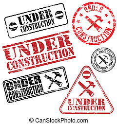 Under Construction Stamps