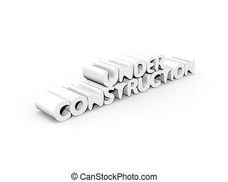 Under Construction - 3D Illustration. Website is under...