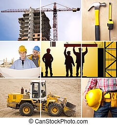 under construction - industrial collage made from my images...