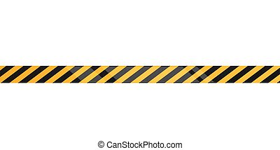under construction caution tape on metallic danger tapes vector rh canstockphoto com