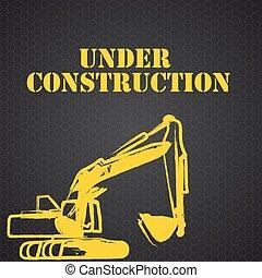 Under Construction. Vector Illustration