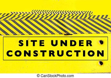 under construction website template design