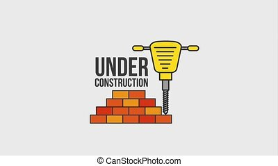 under construction website animation hd - under construction...
