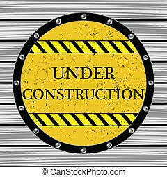 under construction window