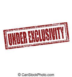 Under Exclusivity-stamp