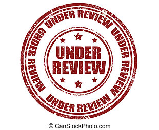 Under review-stamp