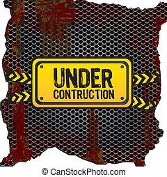 under, signal, konstruktion