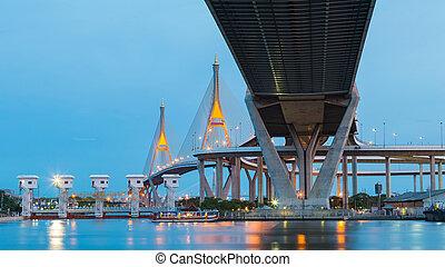 Under the bridge connection