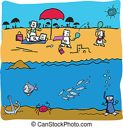 Oceanography Stock Illustrations. 253 Oceanography clip ...