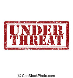 Under Threat-stamp