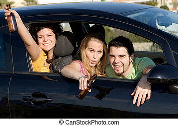 underage drinking and driving,