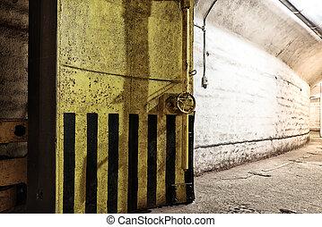 Underground bunker from cold war