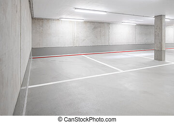 car parking garage