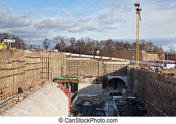 Underground construction