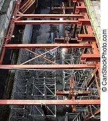 Underground Construction Site