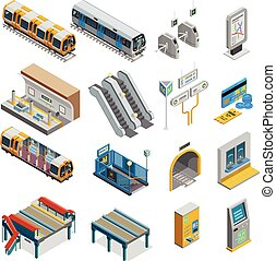 Underground Isometric Set