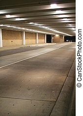 UNDERGROUND PARKING  - Road leading to parking lot