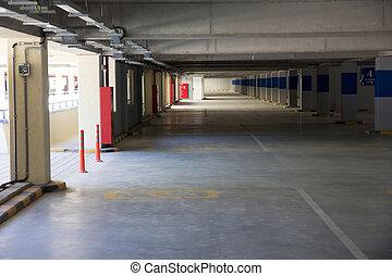 underground parking