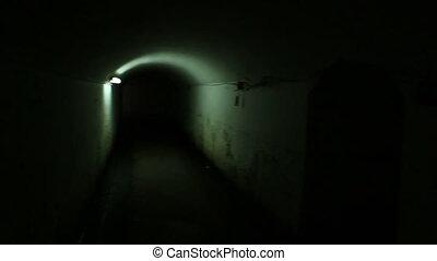 underground tunnel prison