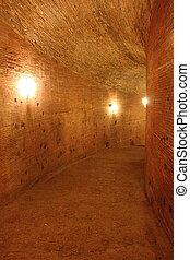 Undergrounds of a castle