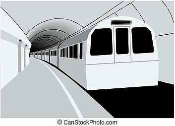 undergrundsbane tog