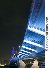 Underneath the Bridge - The famous Erasmus suspension bridge...