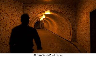 Underpass tunnel. 4K. - Underpass tunnel. Shot in 4K...