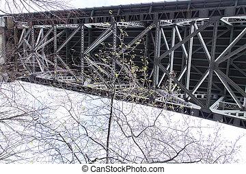 Underside of Aurora Bridge - Seattle