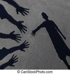understøttelse, samfund