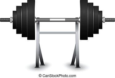 understøttelse, vægte
