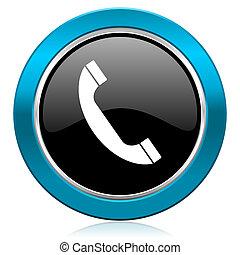 underteckna, glatt, telefon, telefonera ikon