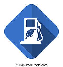 underteckna, ikon, drivmedel, lägenhet, bio, biofuel