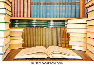 undervisning, bøger