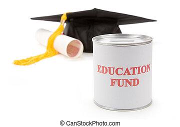 undervisning, fond