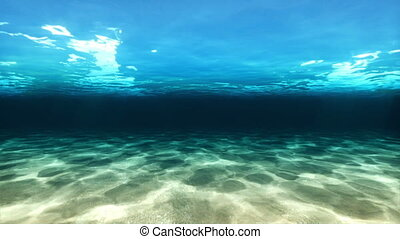 Underwater and over sea Cam Fly - Underwater and over sea...