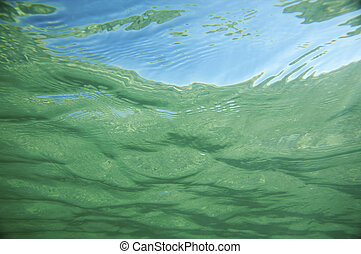 Underwater background of ripple pattern in tropical sea